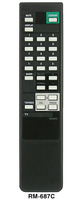 Пульт Sony RM-656A