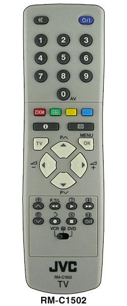 Пульт JVC RM-C1502